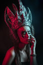 Dark queen Royalty Free Stock Image