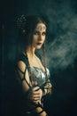Dark queen Royalty Free Stock Photo