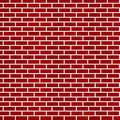 Dark red brick wall background Stock Photos
