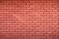 dark red brick wall for pattern and background Royalty Free Stock Photo