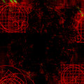 Dark red goth - Grungy background Stock Image