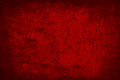 Dark Red Old Grunge Abstract T...