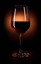 Dark red wine Royalty Free Stock Photography