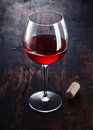 Dark red Wine Stock Photography