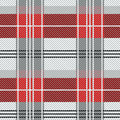 Dark seamless checkered pattern for school uniform. Royalty Free Stock Photo