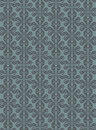 Dark sky blue colors art deco style lattice pattern design orig original and symbol series Stock Image