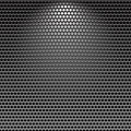 Dark stainless grille metal texture background Royalty Free Stock Photography