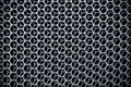 Dark Steel grid background Royalty Free Stock Photo