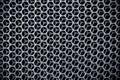 Dark Steel grid background