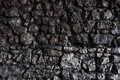 Dark Stone Wall Made Of Irregu...