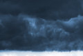 Dark storm clouds Royalty Free Stock Image