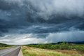 Dark Storm Clouds Royalty Free Stock Photo