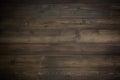 Dark wood plank