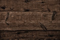 Dark wooden boards as background a Royalty Free Stock Photos