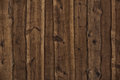 Dark wooden boards as background plank a Stock Photos