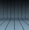 Dark wooden texture floor and wall Royalty Free Stock Photo
