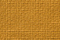 Dark yellow background from a textile material. Fabric with natural texture. Backdrop. Royalty Free Stock Photo