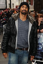 The darkness david haye arriving for european premiere of dark knight rises at odeon leicester square london picture by steve vas Stock Photos