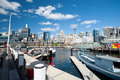 Darling Harbour in Sydney, Australia. Royalty Free Stock Images
