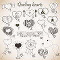 Darling hearts Royalty Free Stock Photos