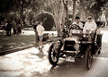 Darraco on Vintage Car Parade Royalty Free Stock Photography