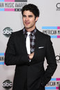 Darren criss los angeles nov arrives at the american music awards at nokia theater on november in los angeles ca Royalty Free Stock Images