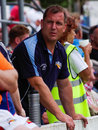 Darren holt barrow raiders rugby league ex coach Stock Image