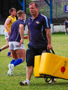 Darren holt barrow raiders rugby league ex coach Stock Photography