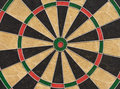 Dart board. Close up picture Royalty Free Stock Photo