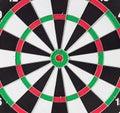 Dart board macro Royalty Free Stock Photo