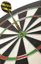 Dart in the bulls eye Royalty Free Stock Photos