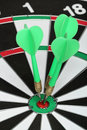 Dartboard bulls eye. Stock Images
