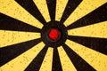 Dartboard target Stock Photography
