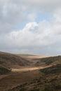 Dartmoor sunlight a beautiful country scene on national park Stock Photo