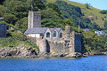 Dartmouth Castle Royalty Free Stock Photo