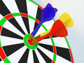 Darts Stock Photography