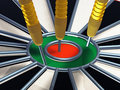 Darts 3d Royalty Free Stock Photos