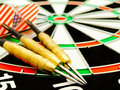 Darts arrows Royalty Free Stock Photo