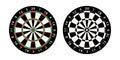 Darts board target Royalty Free Stock Photo