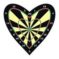 Darts for the Cupid Royalty Free Stock Image