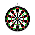 Darts game with javelins Royalty Free Stock Photo