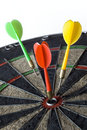 Darts series Royalty Free Stock Photos