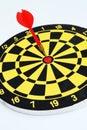 Darts target Royalty Free Stock Photo