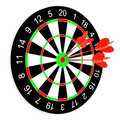 Darts on a white background. Stock Images
