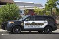 Das auto napa county sheriffs in yountville Stockbild