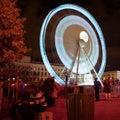Das große Rad - feiern Sie DES Lumieres 2010 Lizenzfreies Stockbild