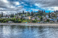 Dash Point Homes HDR 2 Royalty Free Stock Photo