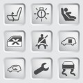 Dashboard icons set 5 Stock Photos