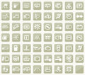 Dashboard icons vector illustration background Royalty Free Stock Image