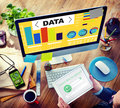 Data Analytics Chart Performance Pattern Statistics Information Royalty Free Stock Photo
